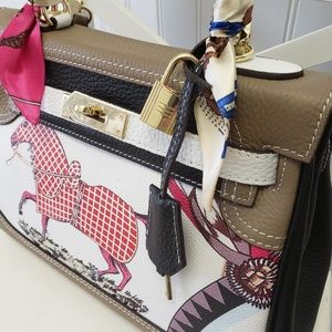 Handbags - Independent Designer Equestrian Kelly Bag